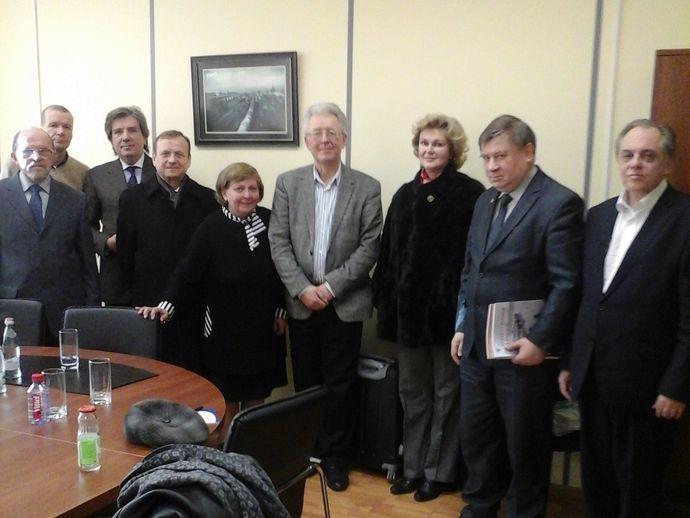 Встреча В.Ю. Катасонова с экспертами петербургского Центра социально-консервативной политики