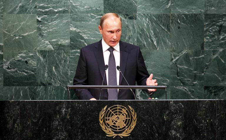 Уроки русского от Путина