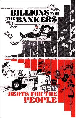 Миллиарды – банкирам, долги – народу