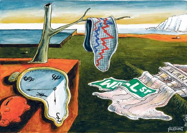В 2016 году мир накроет вторая волна финансового кризиса