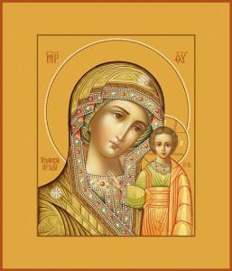 04 КАЗАНСКАЯ ИКОНА БОЖИЕЙ МАТЕРИ